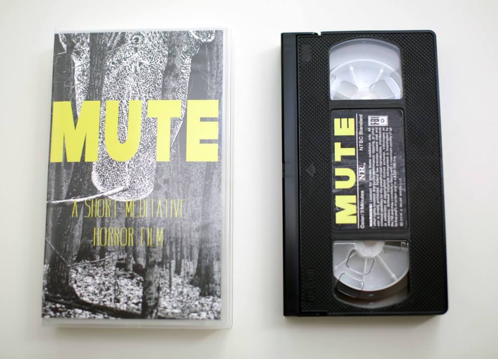 A COLOR GREEN Releases Their Short Film MUTE on Limted Edition VHS! Pre-Order Now for Halloween Delivery!