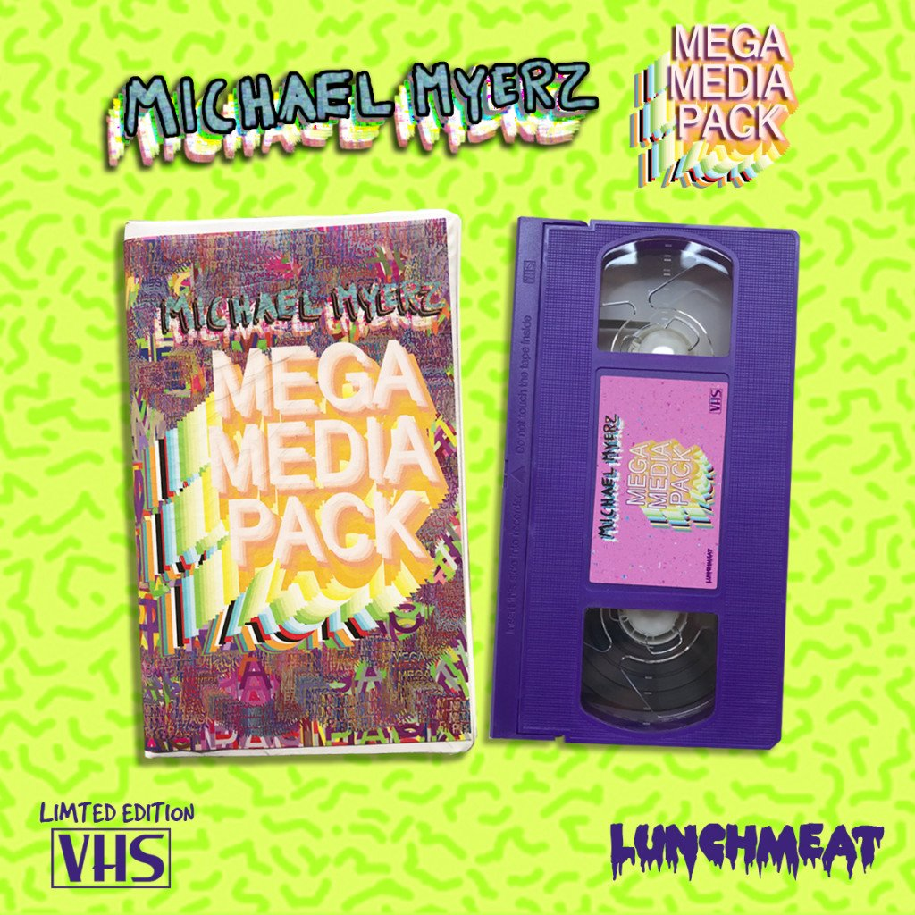 LUNCHMEAT Proudly Presents Atlanta Outsider Hip Hop Artist MICHAEL MYERZ on Limited Edition Fresh VHS with MEGA MEDIA PACK!