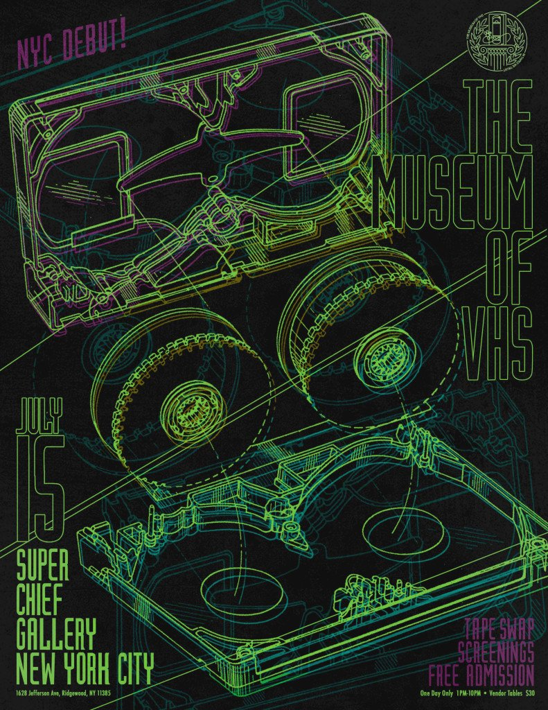 HORROR BOOBS Presents THE MUSEUM OF VHS -  NYC Debut, Tape Swap, and Screenings at SUPERCHIEF NY!