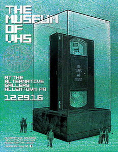 THE MUSEUM OF VHS Comes to The Alternative Gallery in Allentown, PA on Thursday, Dec. 29th from 6 – 10PM! This is a TOTALLY FREE EVENT, Tapeheads!