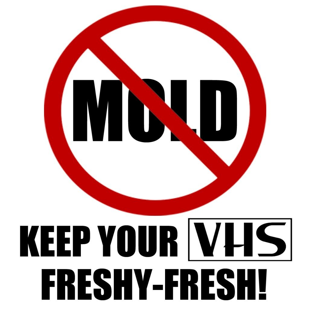 You Can Save Your VHS from MOLD! Videovore Dustin Kramer Creates HOW TO CLEAN A MOLDY VHS Video to Help Illustrate the Process of Cleaning Mold from Video Tapes!
