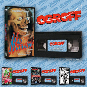 VIDEONOMICON Offers Up the First Official North American VHS Release for French Horror / Slasher Flick OGROFF aka THE MAD MUTILATOR!