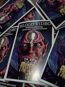HORROR BOOBS and Mike Hunchback Team Up to Release BLOOD VIDEO SPECIAL EDITION #1 Featuring a Comprehensive Interview with SOV Filmmaker / Artist CHARLES PINION! PLUS! A VHS Screening IN Brooklyn with FREE BEER!