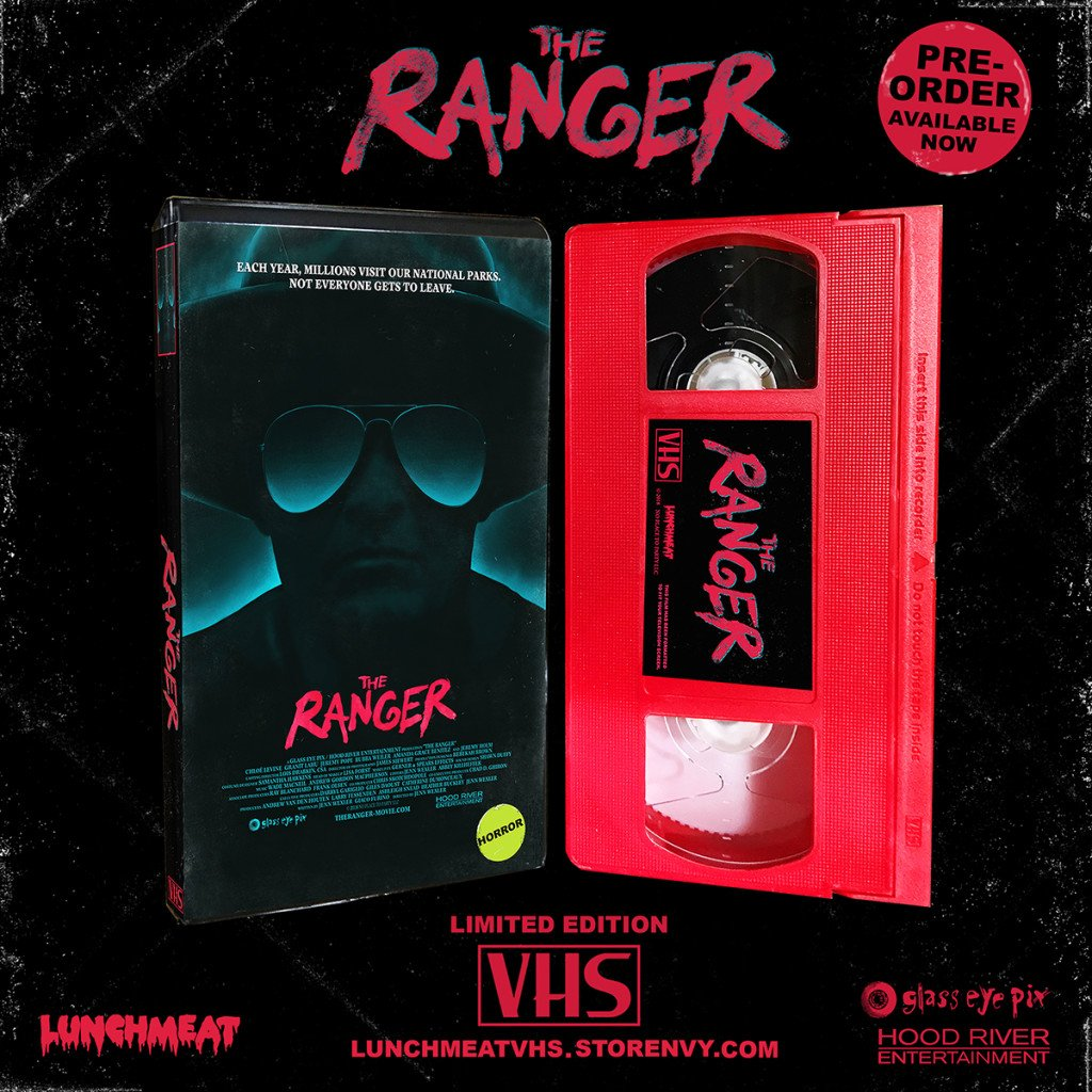 Backwoods Punk Rock Slasher THE RANGER Comes to Limited Edition VHS via LUNCHMEAT! Details and PRE-ORDER Now Available!