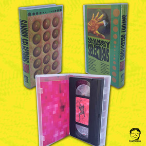 Experimental Animation Collection SAVORY SELECTIONS Comes to Limited Edition VHS via Brooklyn, NY Outfit RANDOM MAN!