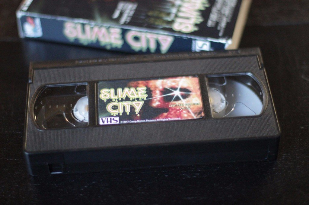 SLIME CITY Comes Back to VHS with Super Limited Halloween Edition from CAMP MOTION PICTURES! PLUS! More VHS Re-Animation from CAMP!