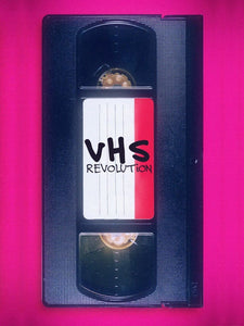 New VHS-Driven Documentary VHS REVOLUTION is Now Streaming for Free on Amazon Prime!
