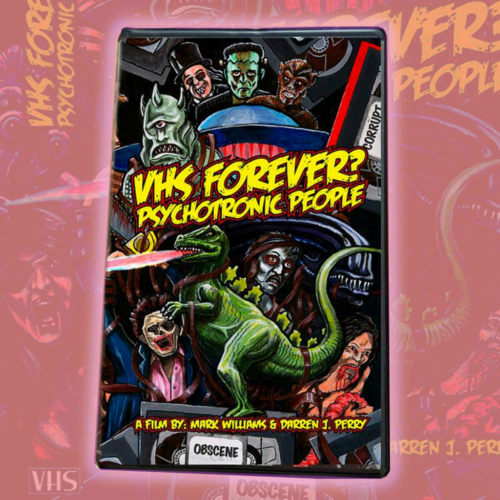 "UK-Based VHS Documentary VHS FOREVER? PSYCHOTRONIC PEOPLE Offers Low-Priced 80s-Inspired ""Sell-Through Edition"" VHS! Now Available for a Limited Time!"