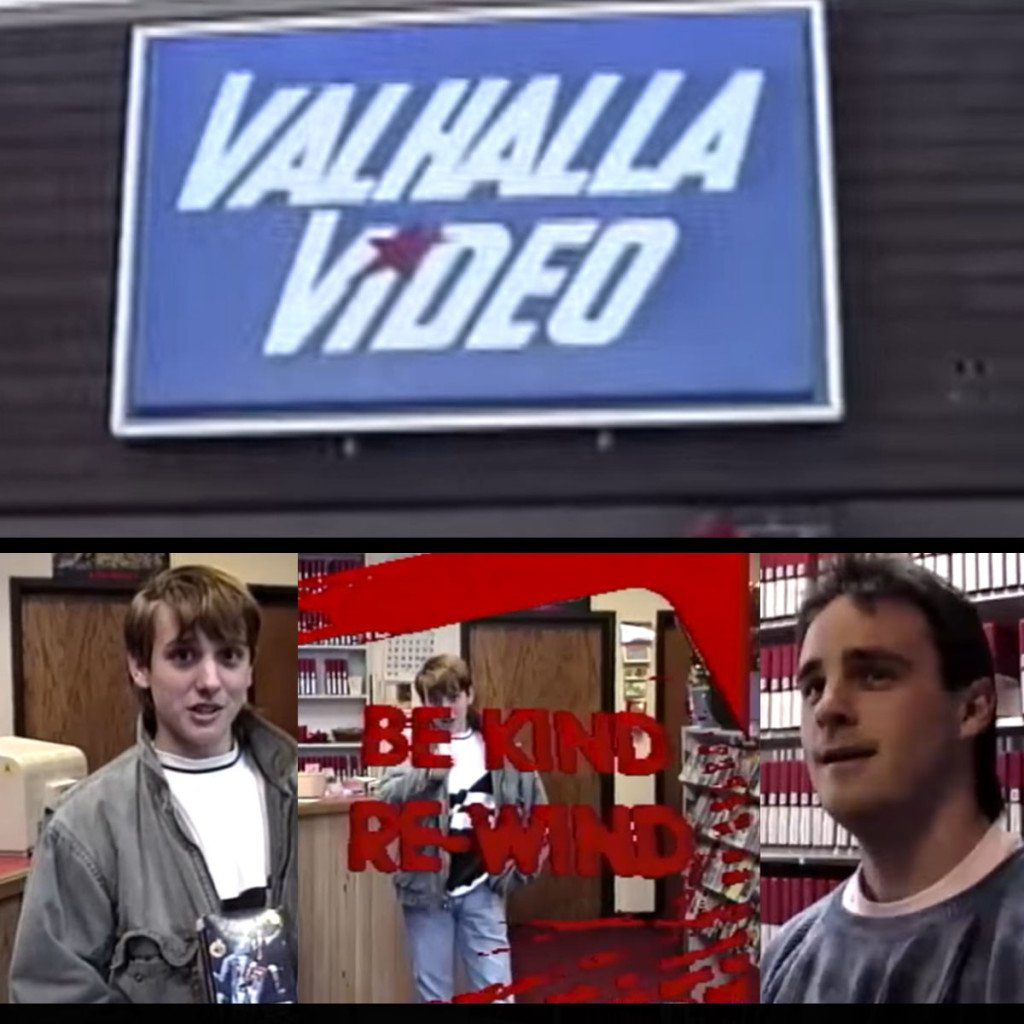 Check Out This Radical Shot on Video Tour of VHS Rental Store VALHALLA VIDEO in Rochester, MN Circa 1991, Tapeheads!