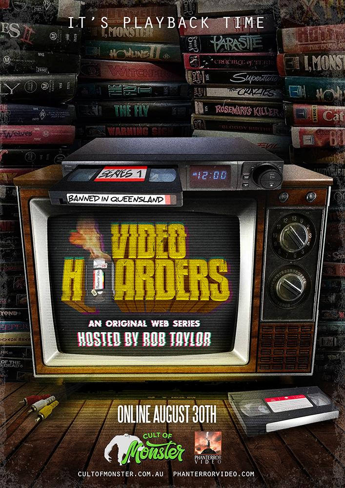 Australian VHS-Centric Web-Series VIDEO HOARDERS Debuts First Episode via Cult of Monster! WATCH NOW!