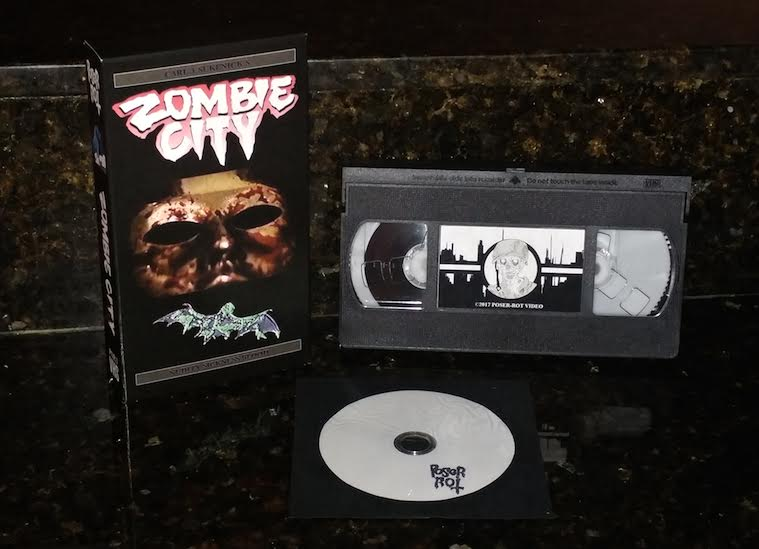 POSER ROT VIDEO Unleashes Shot On Video Carl J. Sukenick Film ZOMBIE CITY on Limited Edition Fresh VHS!