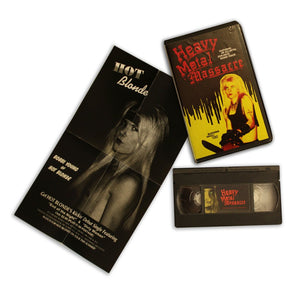 Shot-on-Video Rarity HEAVY METAL MASSACRE Returns to VHS in a Limited Edition via Mondo and Bleeding Skull Video! Order Info and Exclusive Material!