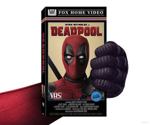 DEADPOOL Will Receive Limited Edition VHS Release from 20th Century Fox at the 2016 San Diego Comic Con!