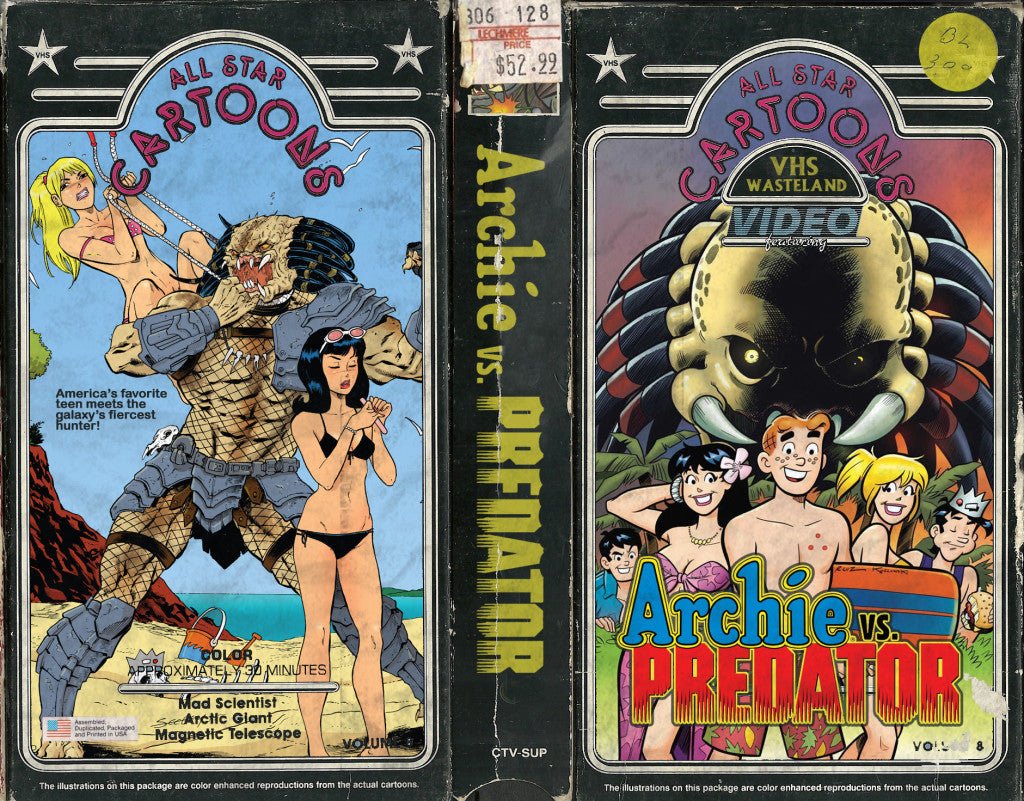ARCHIE VS PREDATOR CUSTOM VHS COVER