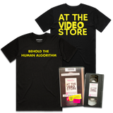 AT THE VIDEO STORE VHS / SHIRT BUNDLE