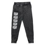 VHS is Happiness - Mineral Wash Jogger Sweatpants