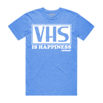 VHS is Happiness - Heather Blue