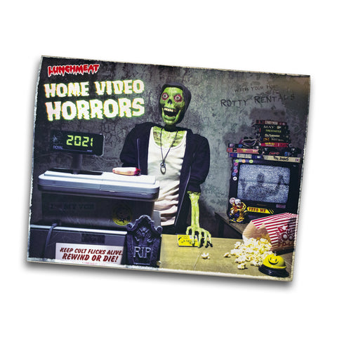 HOME VIDEO HORRORS 2021 CALENDAR