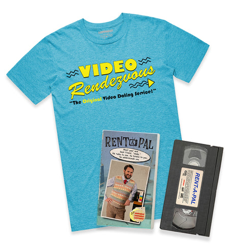 RENT-A-PAL VHS / SHIRT Bundle