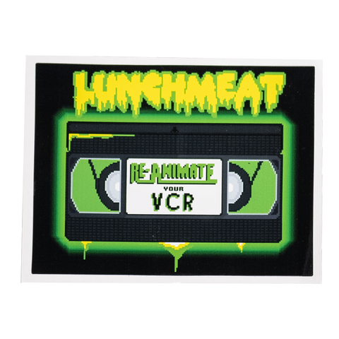 Reanimate Your VCR Sticker