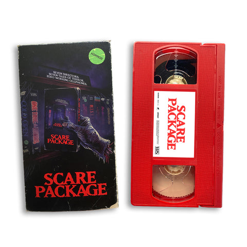 SCARE PACKAGE VHS