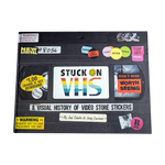 *SIGNED BY AUTHOR* - Stuck On VHS: A Visual History of Video Store Stickers