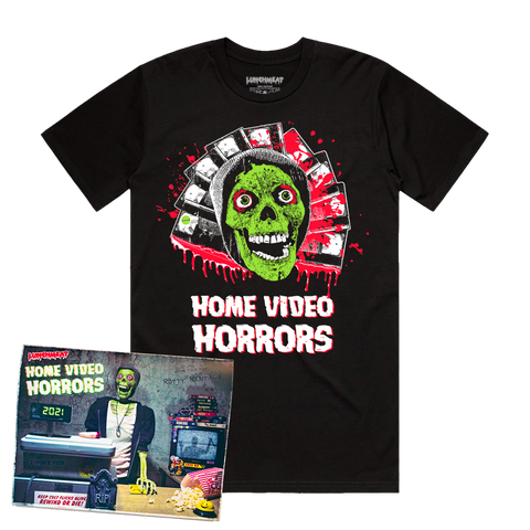 HOME VIDEO HORRORS 2021 CALENDAR / SHIRT BUNDLE