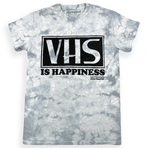 VHS is happiness - Silver Crystal Wash