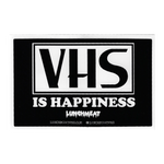 VHS Is Happiness Sticker