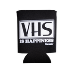 VHS Is Happiness Koozie