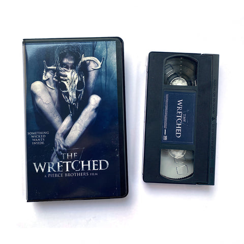 THE WRETCHED VHS