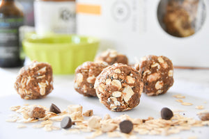 Apple Coconut Oat Bites
