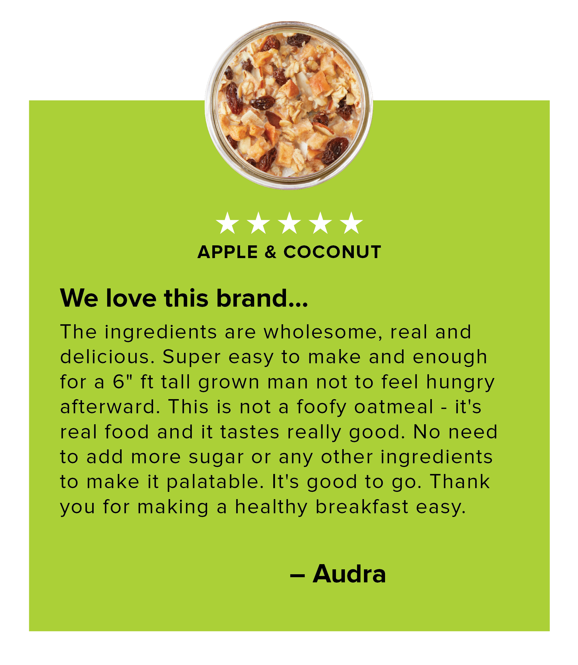 Apple & Coconut Review