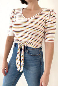RETRO TERRY CLOTH TOP