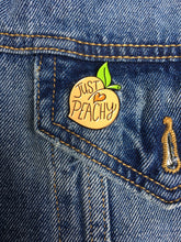 Load image into Gallery viewer, JUST PEACHY ENAMEL PIN