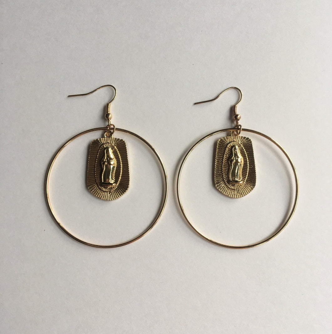 HOOPS OF GLORY EARRINGS