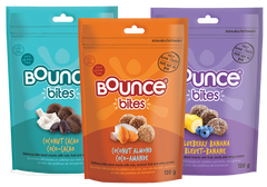 * NEW * BOUNCE BITES 3-PACK SAMPLER