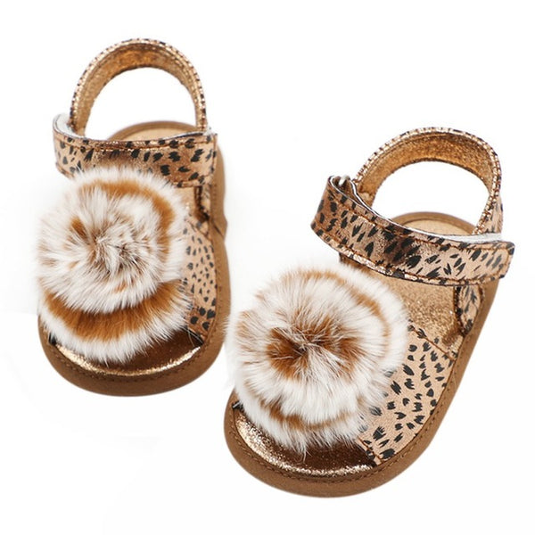 Cheetah Pattern Sandals