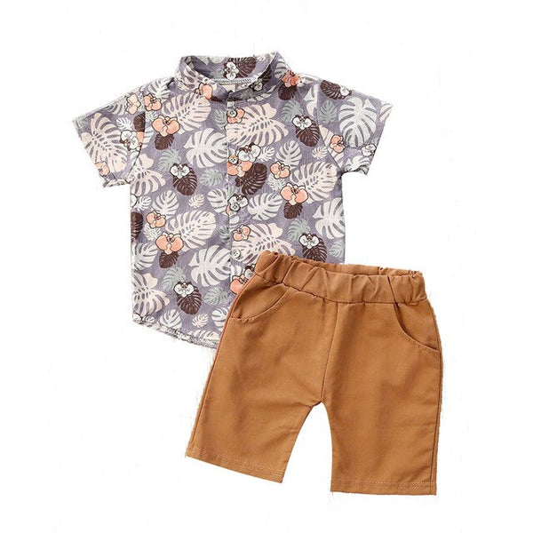 Floral Summer Outfit Cotton