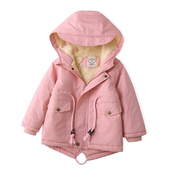 Kids Cozy Winter Jacket