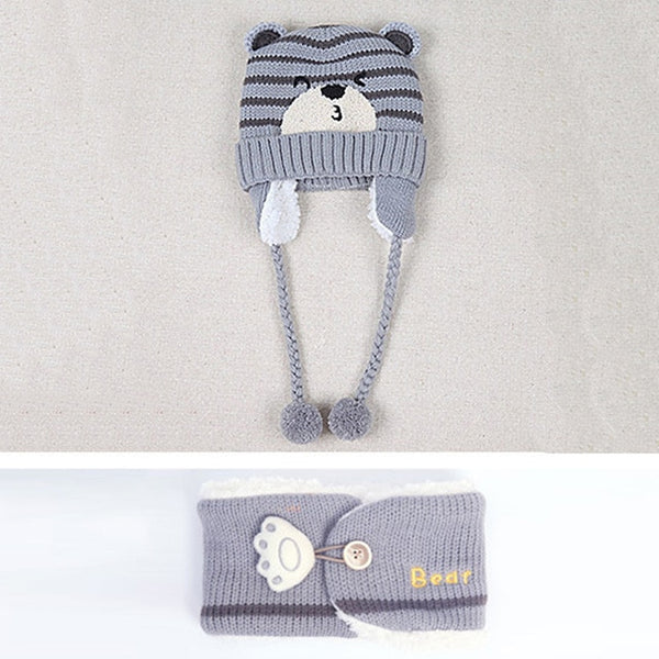 Adorable Beanie and Scarf set