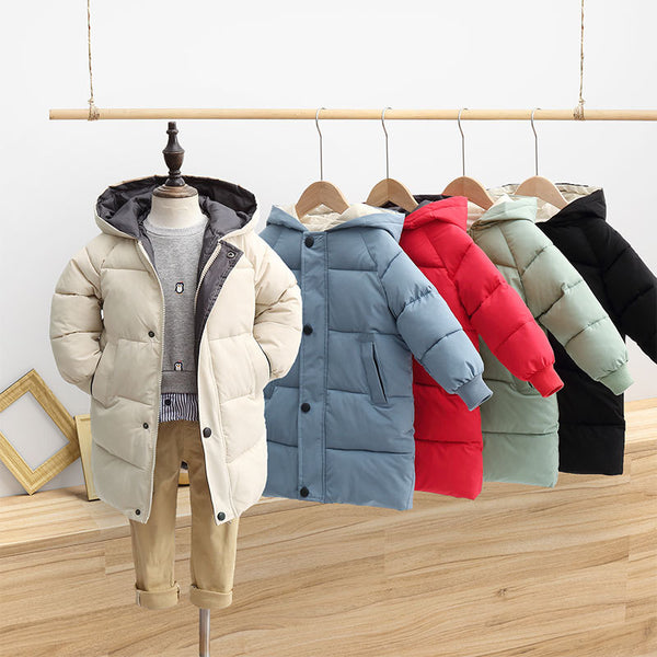 Fashionable Thick Long Winter Jacket