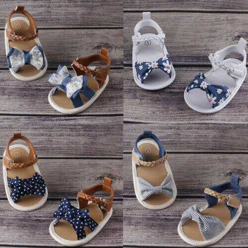Adorable Baby Girl Summer Sandals