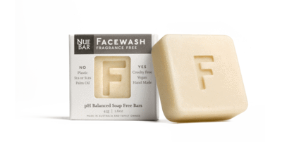 "NueBar Artisan Facewash Bar ""Fragrance free"""