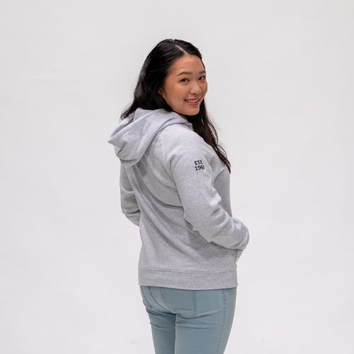 HOODIE LADIES EMBROIDERED KANGAROO POCKET