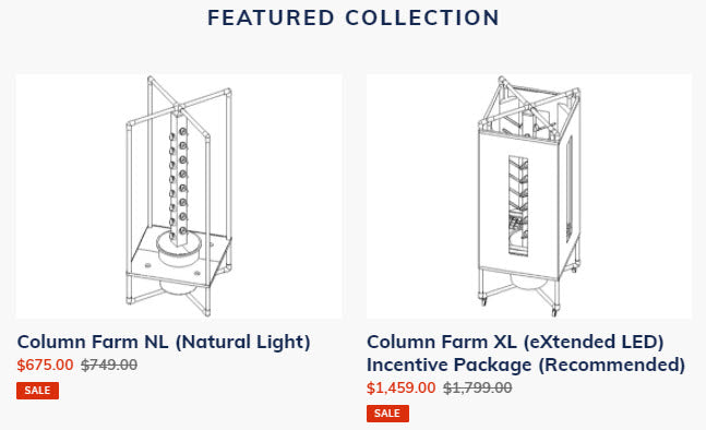 Column Farm Featured Collection