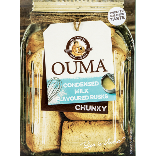 Ouma Rusks Condensed Milk 500g - The South African Spaza Shop