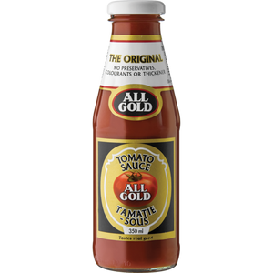 All Gold Tomato Sauce 350ml - The South African Spaza Shop