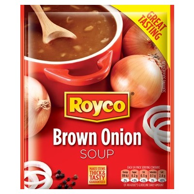 Royco Regular Soup Brown Onion 45g - The South African Spaza Shop