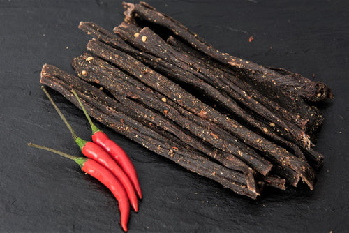 Biltong Bites Chilli Flavour 250g - The South African Spaza Shop